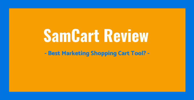 Used Landing Page Software Samcart  Under 100